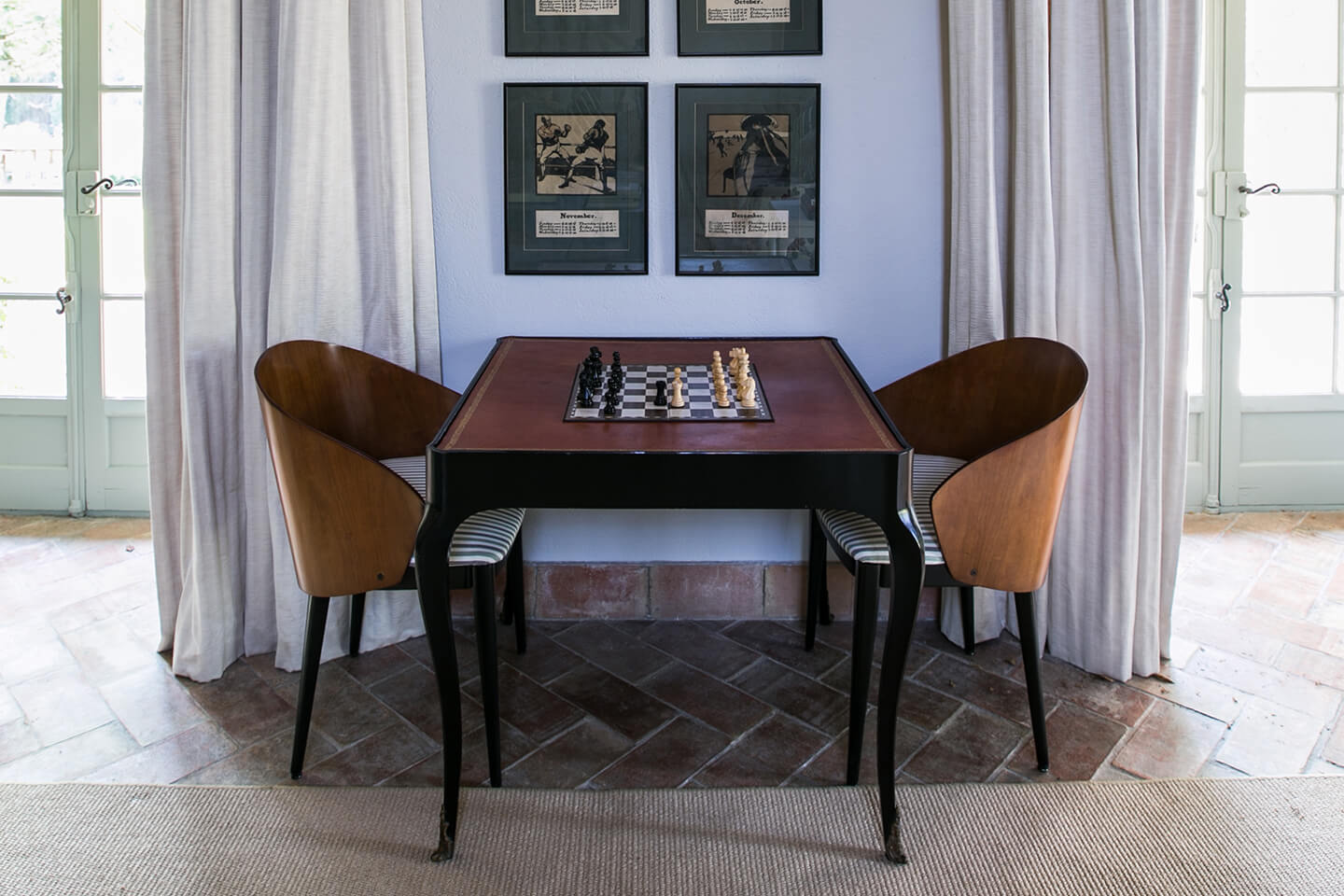 Le Preverger Chess Game Area