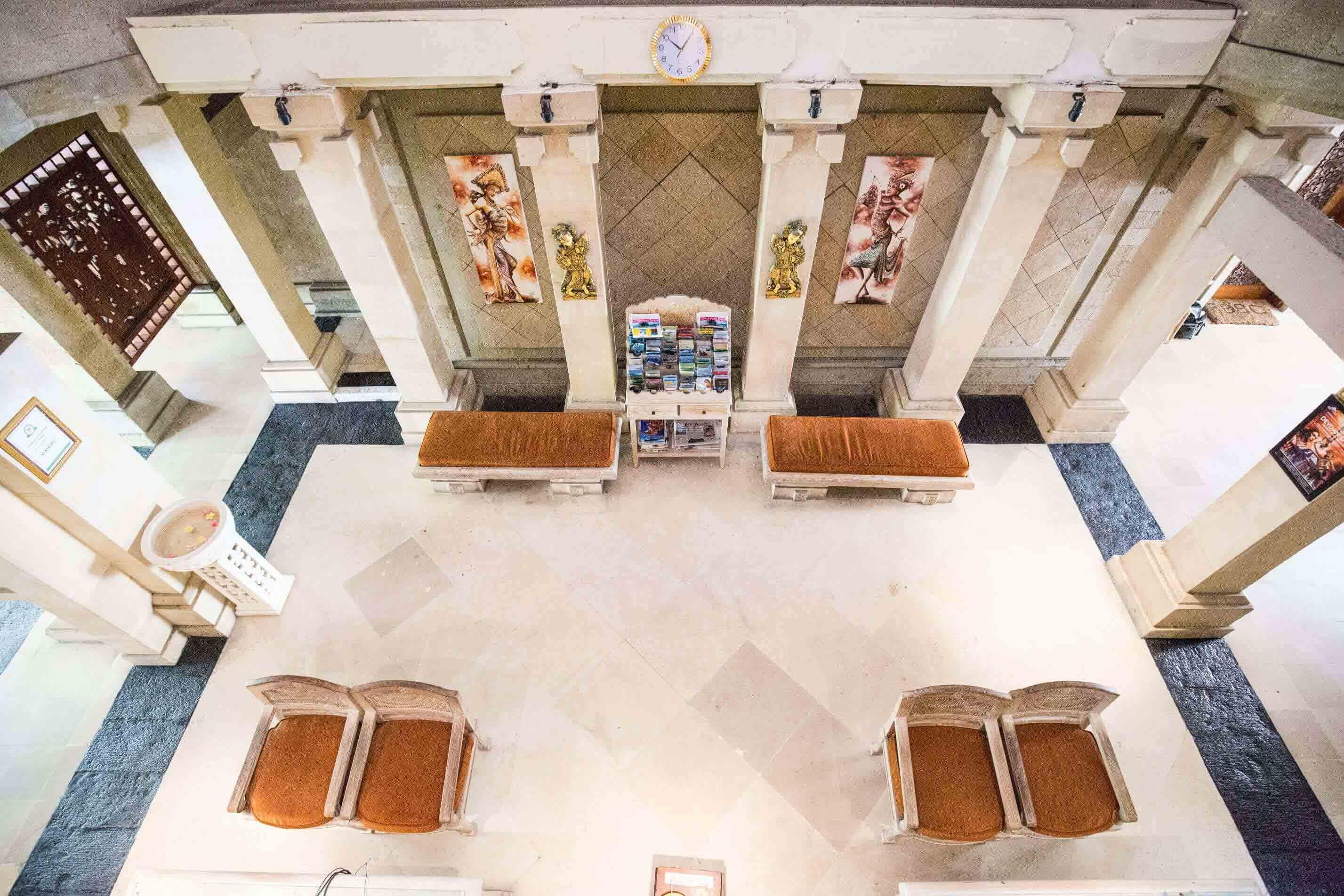 Karma Royal Jimbaran Reception Area