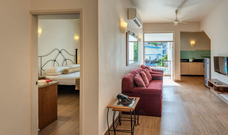 Karma Royal Palms Standard Apartment One Bedroom Living Area